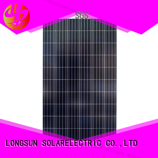 Longsun natural polycrystalline solar panel supplier for communications