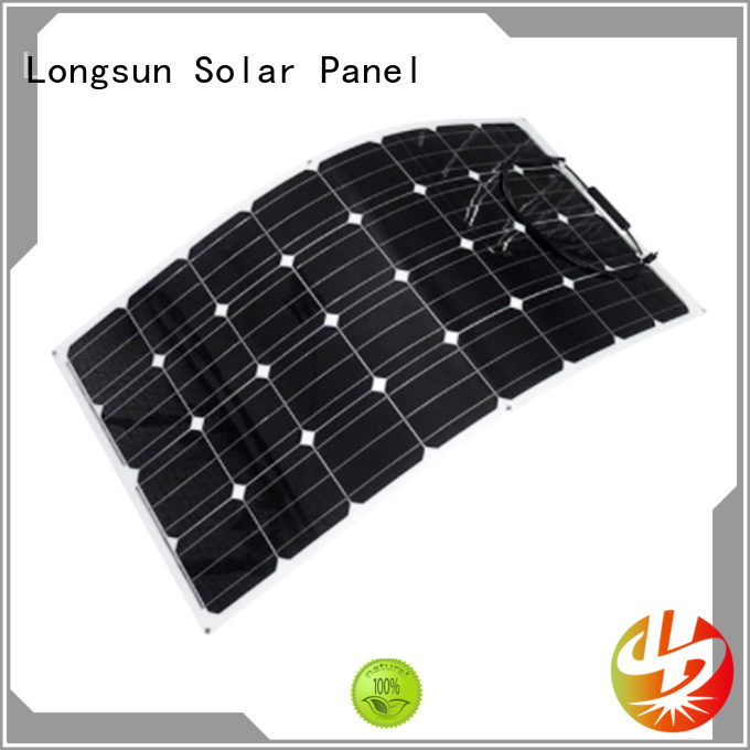 eco-friendly semi flexible solar panel solar marketing for roof of rv