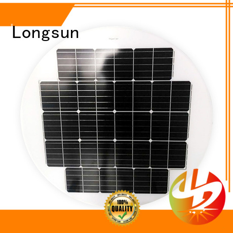circle solar panel 40w producer for Solar lights