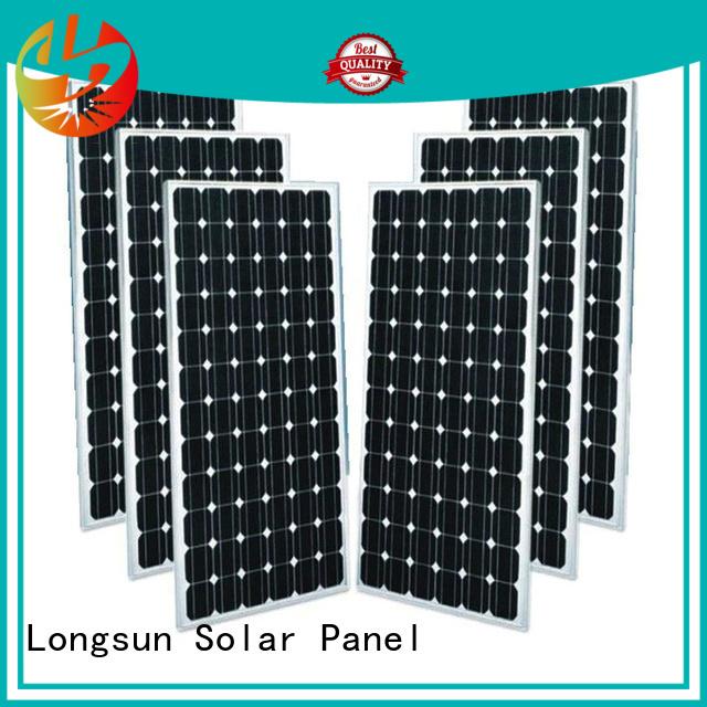 Longsun durable mono solar panel supplier for space