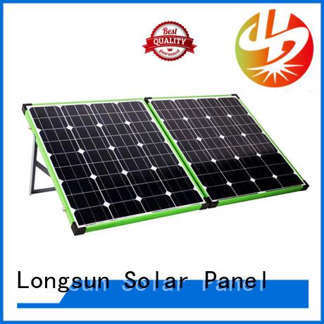 Longsun battery foldable solar panel factory price for caravaning