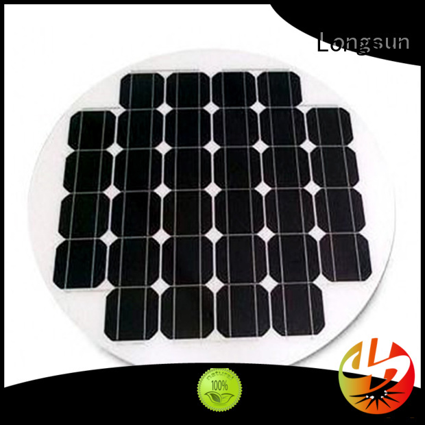 80W ROUND / CIRCLE SOLAR PANEL FOR SOLAR STREET LIGHTS