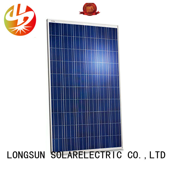 Longsun monocrystalline solar panel manufacturers overseas market for meteorological