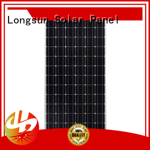 Longsun competitive price high power solar panels manufacturer for traffic field