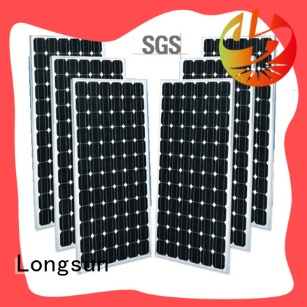 Longsun durable solar module factory price for ground facilities