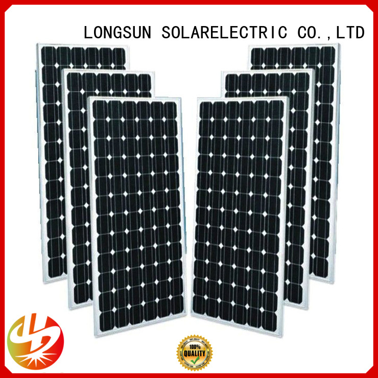 Longsun pv sunpower solar panels factory price for ground facilities