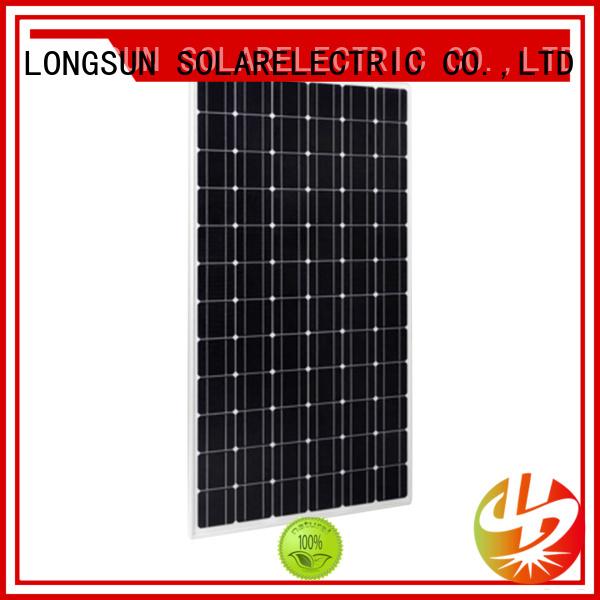 Longsun long-lasting high quality solar panel supplier for meteorological