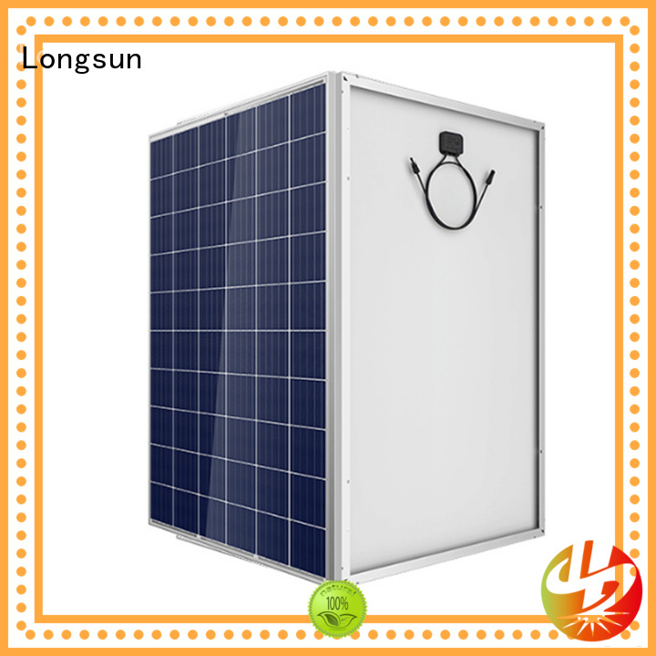 Longsun online highest rated solar panels for photovoltaic power station