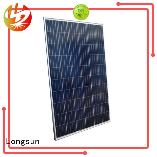 series most powerful solar panel factory price for powerless area Longsun