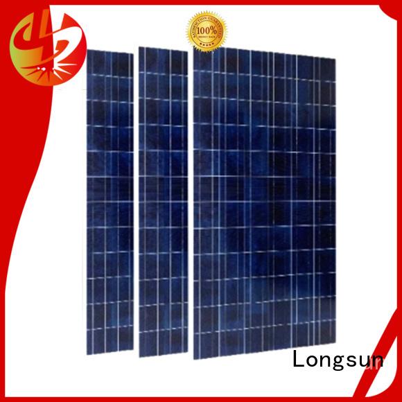 Longsun professional high watt solar panel manufacturer for photovoltaic power station
