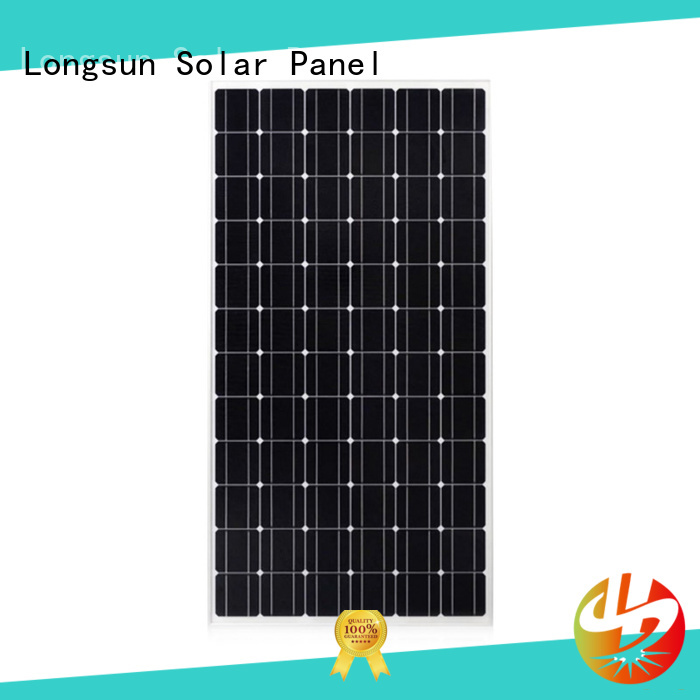 Longsun module sunpower solar panels factory price for ground facilities