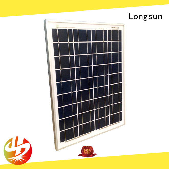 eco-friendly poly solar module module supplier for solar street lights