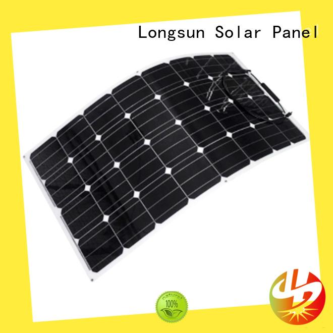Longsun high-end semi flexible solar panel marketing for boats