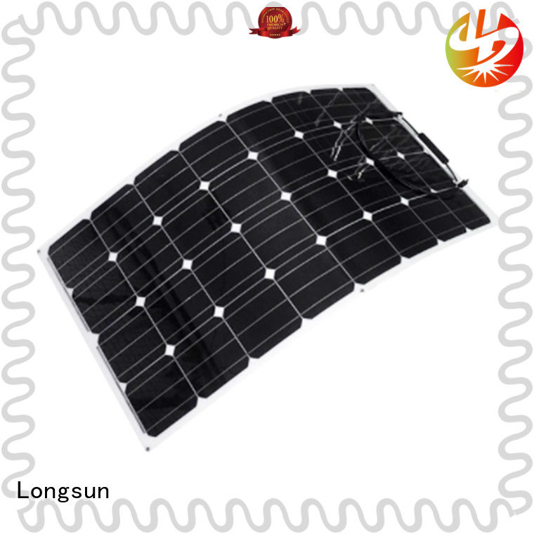 long-life flexible solar panels semi directly sale for boats