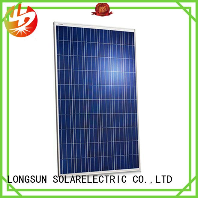 highout most powerful solar panel 350w for traffic field Longsun