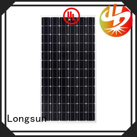 Longsun durable monocrystalline solar module wholesale for space