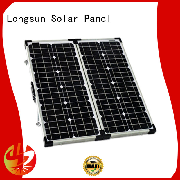 Longsun 80w100w120w180w folding solar panels factory price for 4WD