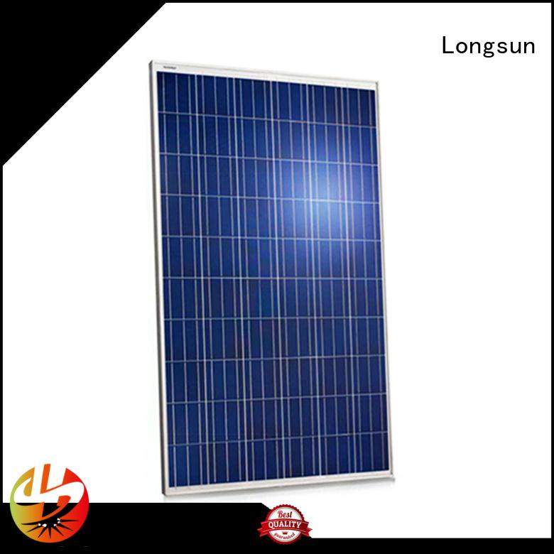 Longsun 270w sunpower solar panels series for meteorological
