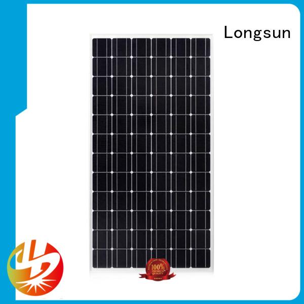 250wpmono monocrystalline solar panel pv for space Longsun
