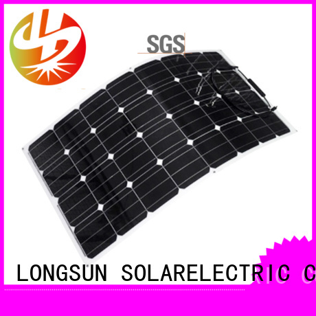 high-quality semi-flexible solar panel semi overseas market for yachts