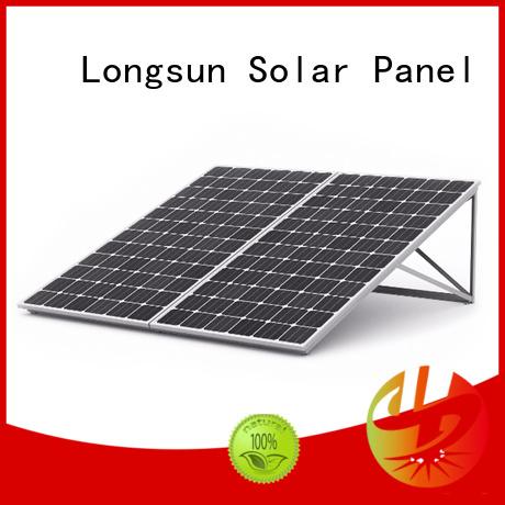 Longsun highout highest watt solar panel customized for meteorological