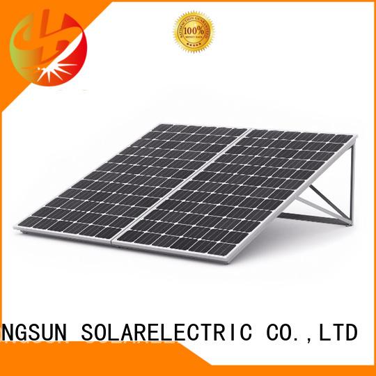 Longsun competitive price high tech solar panels manufacturer for powerless area