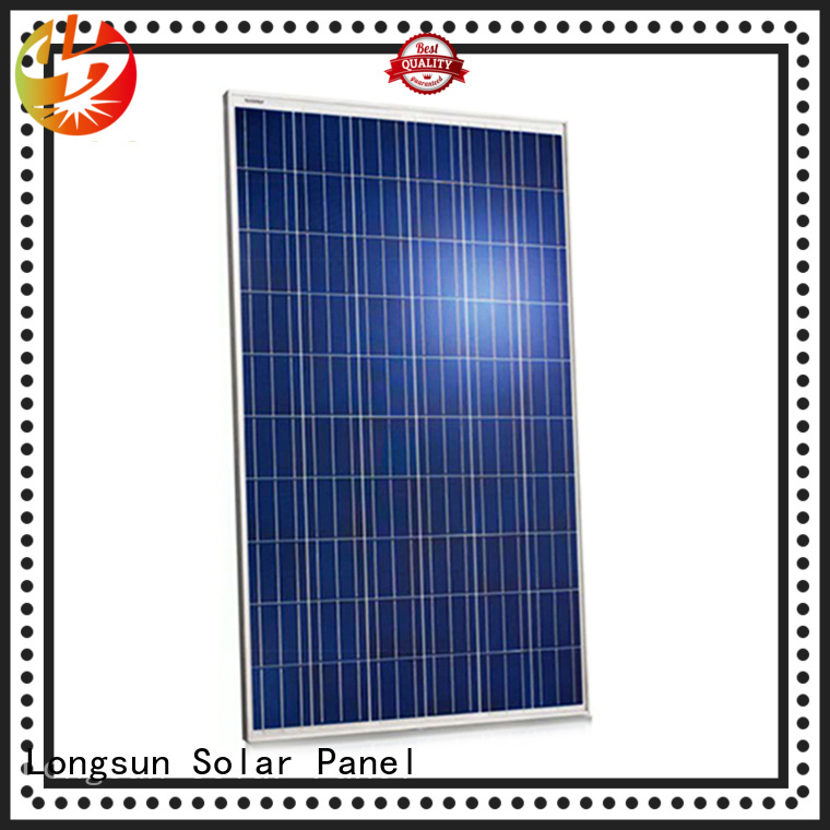 Longsun online high watt solar panel manufacturer for communication field