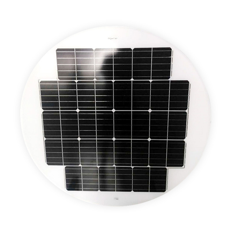 40W ROUND / CIRCLE SOLAR PANEL FOR SOLAR STREET LIGHTS