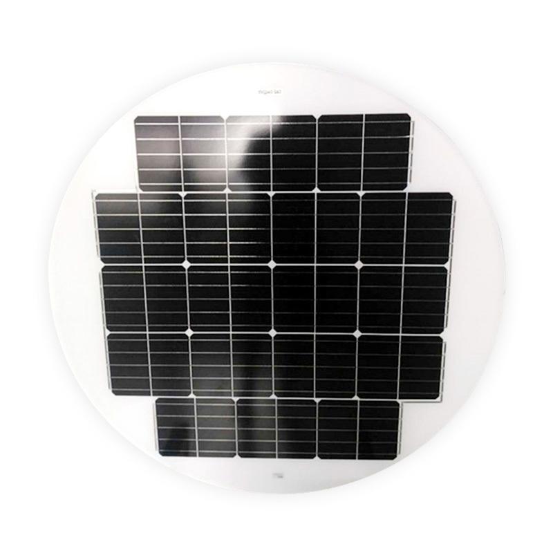 40W ROUND / CIRCLE SOLAR PANEL FOR SOLAR STREET LIGHTS