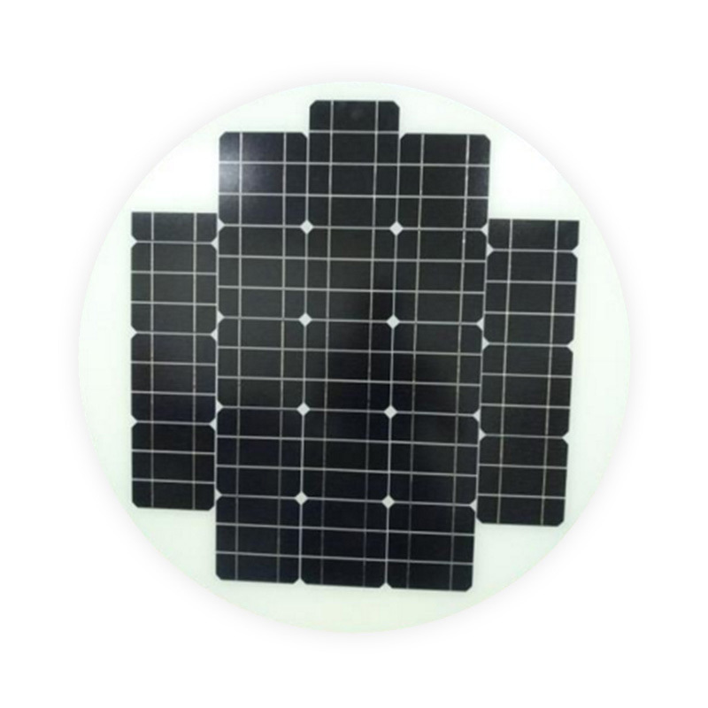 60W ROUND / CIRCLE SOLAR PANEL FOR SOLAR STREET LIGHTS.