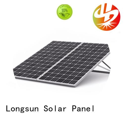 Longsun durable high capacity solar panels supplier for powerless area