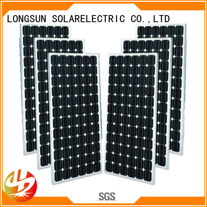 Longsun 300wp mono solar module producer for space