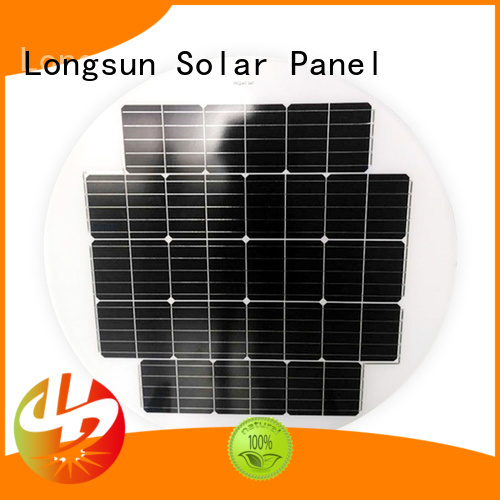 Longsun durable round solar panels series for other Solar applications