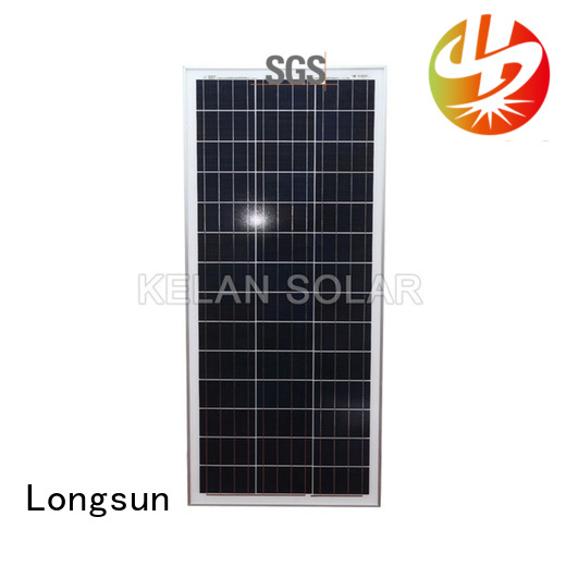 widely used poly solar panel longsun solar  directly sale for aerospace