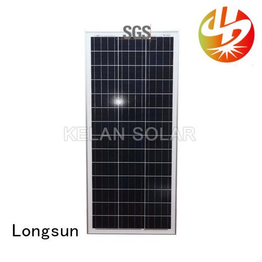 widely used poly solar panel longsunsolar directly sale for aerospace