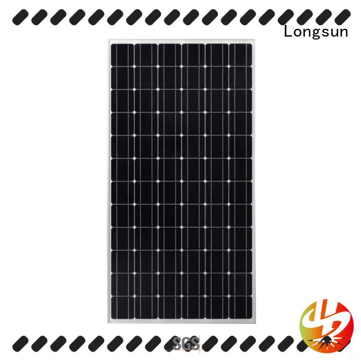 Longsun 270w sunpower solar panels marketing for communication field