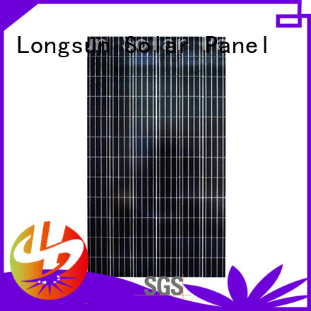 Longsun 100 poly solar panel directly sale for solar power generation systems