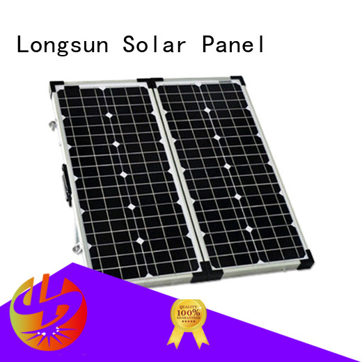 Longsun high quality foldable solar panel dropshipping for caravaning