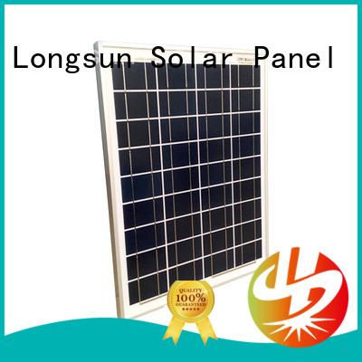 Longsun high-quality polycrystalline solar panel wholesale for solar street lights