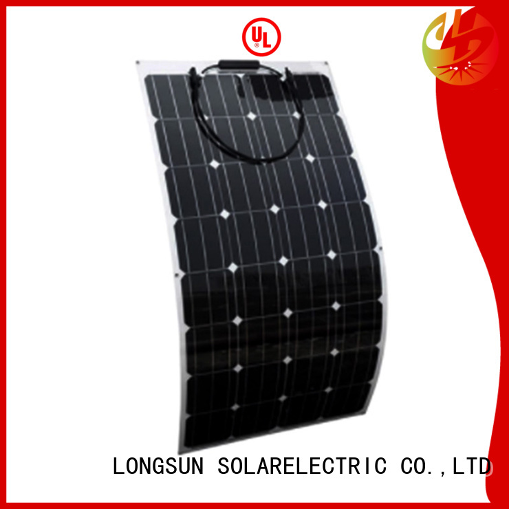 widely used semi-flexible solar panel 60w overseas market for boats