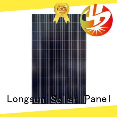 Longsun competitive price polycrystalline solar panel price order now for solar power generation systems