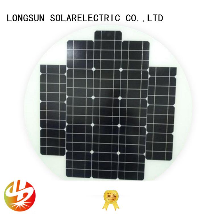 Longsun good to use solar power panels producer for Solar lights