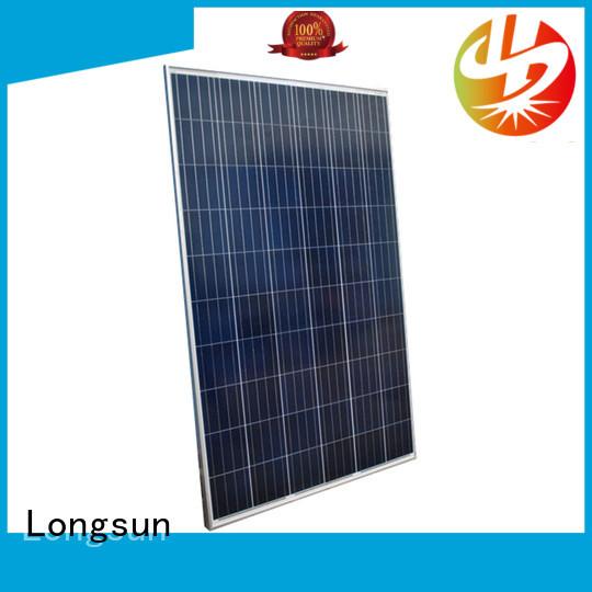 Longsun 280w high power solar panels series for lamp power supply