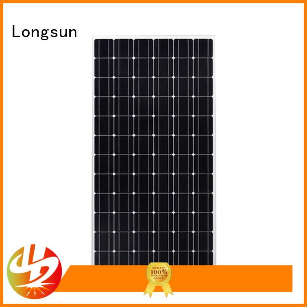 Longsun monocrystalline solar panel price solar for ground facilities