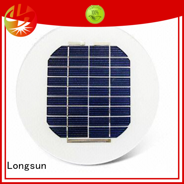 round solar panels to decorative for other Solar applications