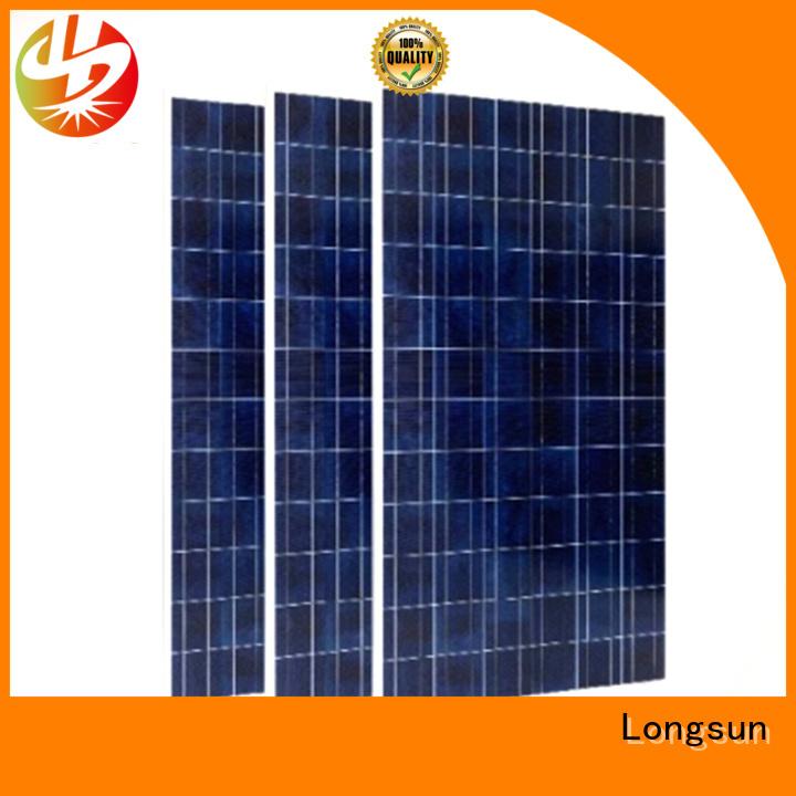 Longsun poly powerful solar panels for meteorological