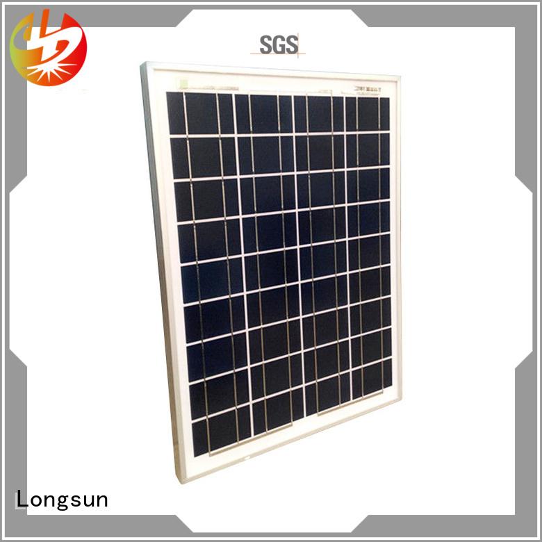 Longsun high-end sunpower module series for solar power generation systems