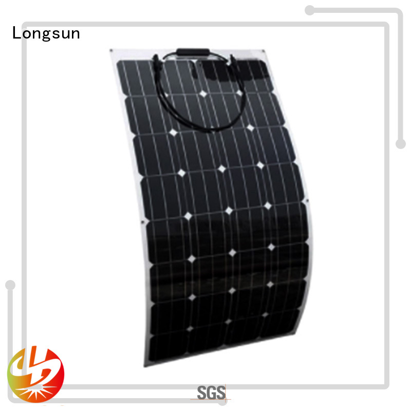 Longsun competitive price semi flexible solar panel wholesale for boats
