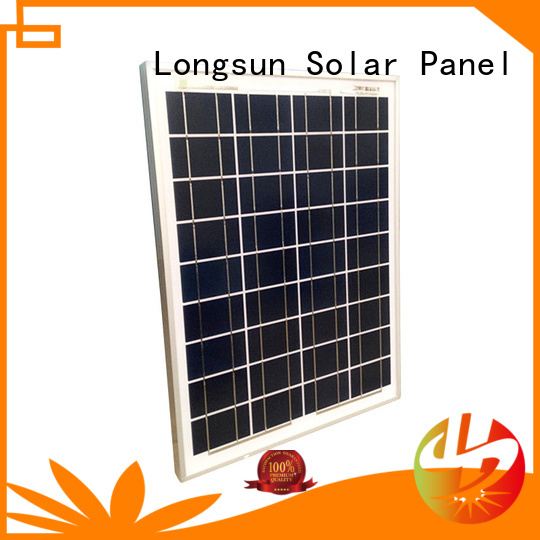 Longsun natural solar panel suppliers wholesale for solar power generation systems