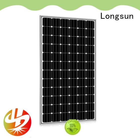 Longsun 340w powerful solar panels series for meteorological